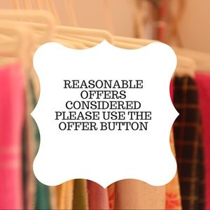 Other - * All reasonable offers considered *